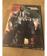 Man On Fire Denzel Washington (DVD) Special Buy 3 Get 4th Movie Free !!! - $3.47