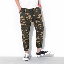 2018 New Fashion Men's Casual Pants Haren Men's Casual Pants Camouflage Camoufla - $27.54