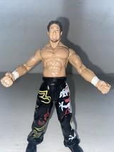 "TAJIRI 1999 Jakks Pacific WWE Wrestling 6.5"" Action Figure Black Pants w... - $6.93"