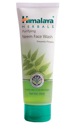 Himalaya Purifying Neem Face Wash150ml clears impurities and helps clear pimples