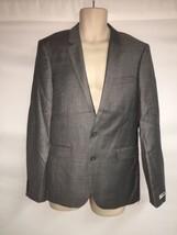Express Blazer Suit Jacket 36 Reg Innovator Extra Slim Mens Gray NWT $298 - $120.94