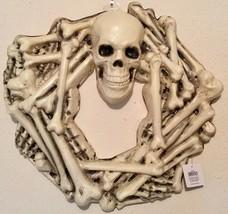 Halloween CRAZY BONES WREATH - Great Spooky Decor For Halloween Party - NEW - £14.28 GBP