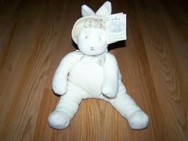 Hallmark Bunnies By The Bay Baylee Plush Stuffed Bean Bag Rabbit Bunny w Tags - $16.00