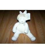 Hallmark Bunnies By The Bay Baylee Plush Stuffed Bean Bag Rabbit Bunny w... - $16.00