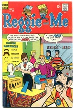 Reggie and Me #35 1969- Archies- Archie comics- Mustache cover FN- - $36.57