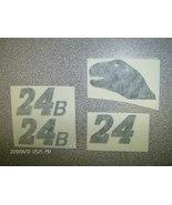"""JEFF GORDON""""T-REX-DINO""""24B""""BLACK-TEST-DECALS1/24 - $2.99"""