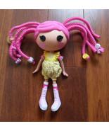 """MGA Lalaloopsy Hard Pvc 12"""" DOLL + 8"""" Pink Bend Hair Rods 2010 - $12.69"""