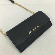 NWT Michael Kors Jet Set Travel Saffiano Leather Chain Wallet - $108.00