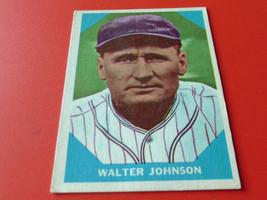 1960  FLEER   WALTER  JOHNSON / JOHN  McGRAW / HARRY  HEILMANN  * 3  CAR... - $54.99