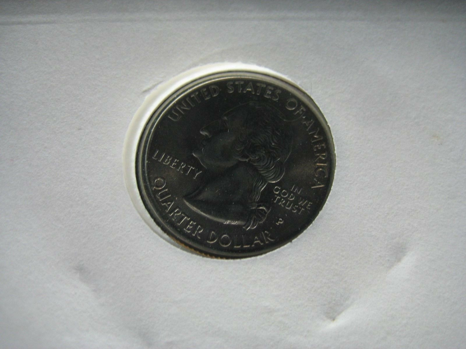 Pennsylvania State First Day Of Issue Commemorative Quarter Unc & 4 Cent Stamp