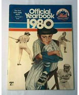 New York Mets 1980 Official Yearbook Magazine Book with Lee Mazzilli On ... - $14.99