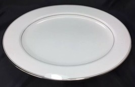 "Mikasa BRIARCLIFFE A1-101 Bone China 15"" Oval Serving Platter C. 1983 - $18.80"