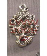 Sm. Oriental Chinese Dragon Necklace Pendant Charm- NEW - $3.99