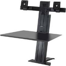 "Ergotron 33-407-085 WorkFit-SR Dual Monitor Sit-Stand Workstation 24"" Screens  - $699.99"