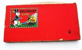 1930s UNCLE WIGGILY Board Game Milton Bradley WOOD Pieces in Box Near Co... - $62.27