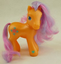 * G3 My Little Pony SEW-AND-SEW Orange w/ Purple/Pink Hair, Hearts & But... - $4.00