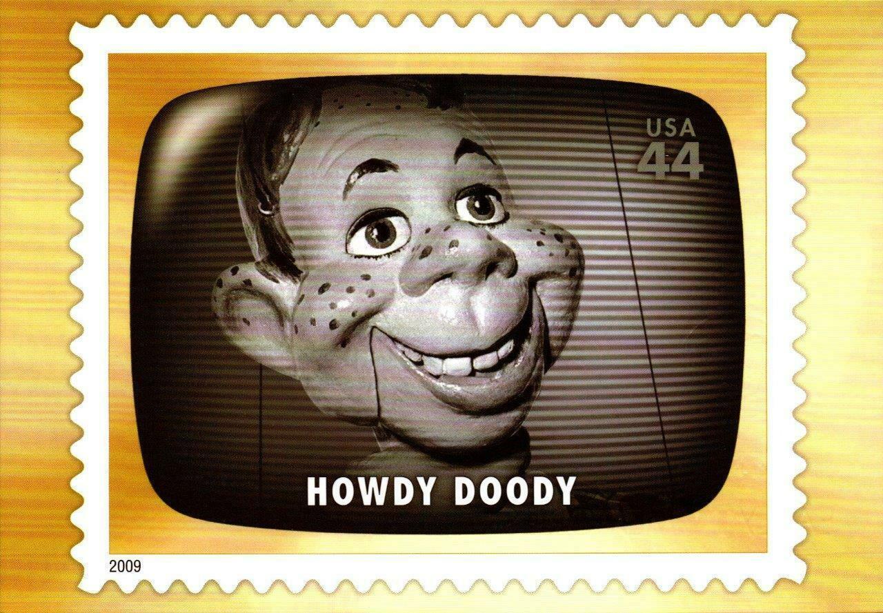 FDC POSTCARD-HOWDY DOODY-EARLY TV MEMORIES-2009  ARTCARFT CACHET CARD  BK16