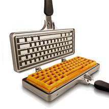 Computer Keyboard Waffle Iron Maker Stovetop Kitchen Cookware - $107.91