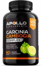 Garcinia Cambogia - Appetite Suppressant For Weight Loss - 100% All Natural - $13.09