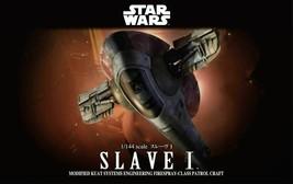 Bandai Star Wars Slave I 1/144 Star Wars Episode 5 Empire Strikes Back B... - $69.29