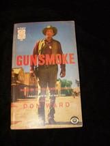Gunsmoke Paperback Book Don Ward Based On The CBS TV Show 1957 Ballantin... - $19.99