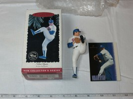 1996 Hallmark Keepsake Ornament MLB Nolan Ryan Texas Rangers At the Ball... - $18.72