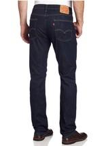 Levis 514 Mens Jeans Slim Fit Straight Leg Dark Blue/Rinse - $50.00