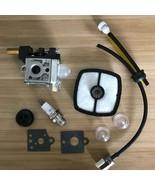 Carburetor Carb Kit for DOLMAR MS 22C Weed Eater Air Filter Fuel Line Sp... - $16.88