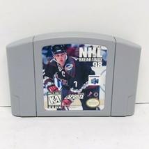 NHL Breakaway 98 (Nintendo 64, 1998) N64 Cart Only - $6.88
