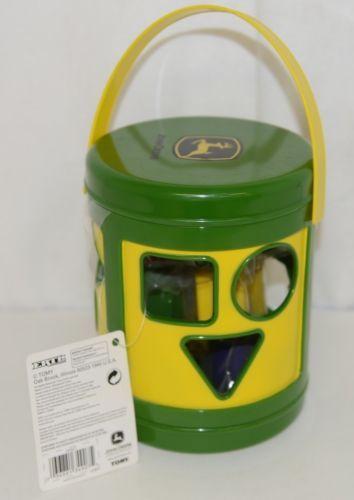 John Deere TBEK34907 Yellow Green Shape Sorter Ages 18 Months