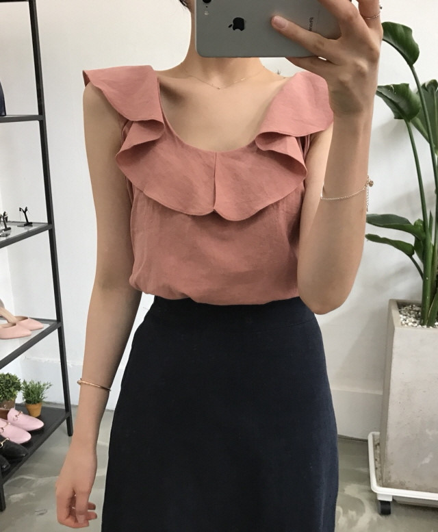 [Shoeming] (Price Chan) Pretty blouse Blouses Korean style