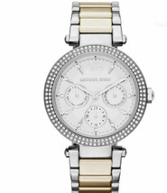 Michael Kors MK6194 Silver Wrist Watch for Women - £68.59 GBP