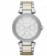 Michael Kors MK6194 Silver Wrist Watch for Women - £61.06 GBP
