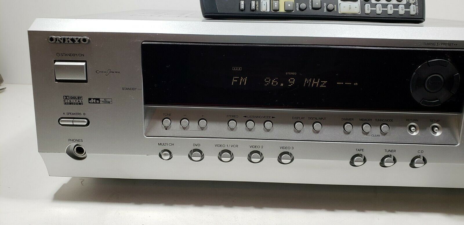 ONKYO AV Receiver HT-R340 With Remote bundle Tested/Working image 2