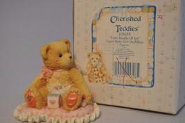 Cherished Teddies - Little Bundle Of Joy - 103659 - Cupid Girl On Pillow - $11.87