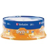 VERBATIM 95058 4.7GB DVD-Rs (25-ct Spindle) Consumer electronic - $24.72