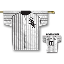 """Chicago White Sox 34"""" x 30"""" 2-Sided Jersey Banner  - $42.95"""
