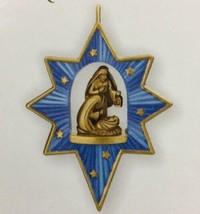 Hallmark Keepsake Birth Of A Savior 2010 Miniature Christmas Ornament New - $5.93