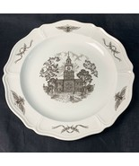 "12 1/2"" Wedgwood Philadelphia Declaration of Independence Chop Plate Pla... - $99.99"