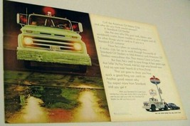 1967 Print Ad American Oil Motor Club Standard Service Tow Truck - $13.52