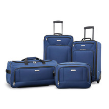 American Tourister Fieldbrook XLT 4 Piece Set Navy 92288-1596 - $129.99