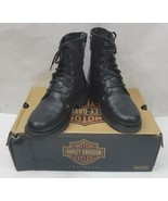 Harley Davidson Womens Boots Leather Motorcycle D84070 Kelly Welt Lace S... - $76.33