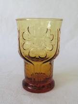 Libbey, Country Garden, Juice Glass, Amber, circa 1975 - $4.00