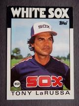 1986 Topps #531 Tony LaRussa Baseball Card (Chicago White Sox) LN - $2.39