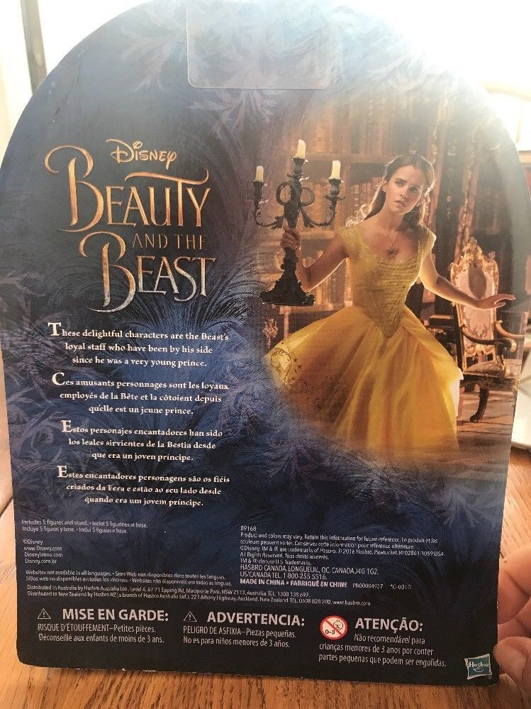 disney beauty and the beast castle friends collection Ships N 24h