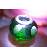 Haunted 3x CAST BEAD WEALTH MONEY MAGICK GREEN Witch Cassia4  - $19.77