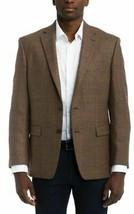 Ralph Lauren Men's Brown Classic-Fit Ultra Windowpane Coat, 38 Reg - $112.86