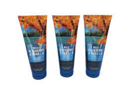 Bath & Body Works Wild Blackberry Vanilla 24 Hr Ultra Shea Body Cream (S... - $44.99