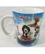 Travel Dogs Blue Harbor Collection 2012 Coffee Mug That's Amore 18 oz Ma... - $11.88