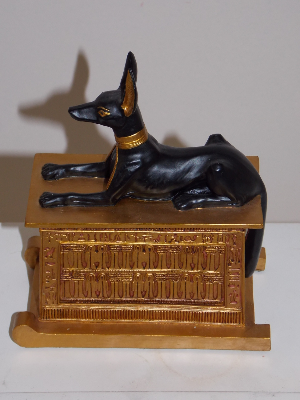 Egyptian Anubis Resin Statue